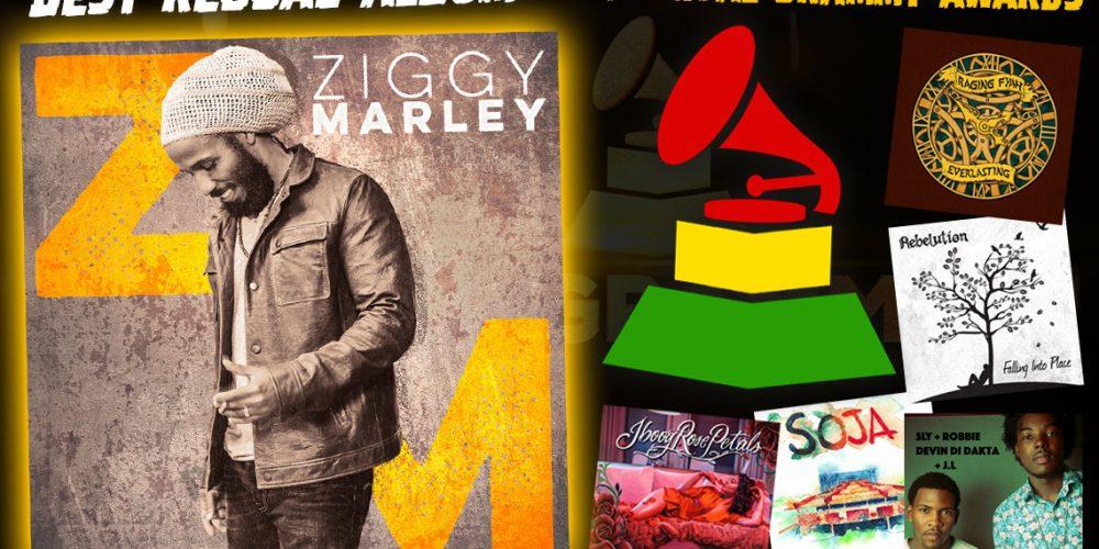 ZiggyMarley wins Reggae Grammy