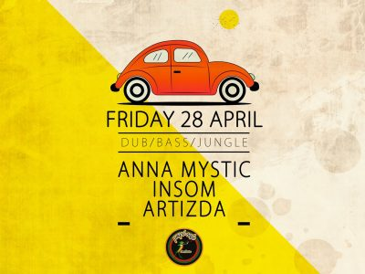 Anna Mystic & Insom & Artizda στο Μικρό
