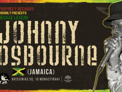 Johny Osbourne Prophecy Records