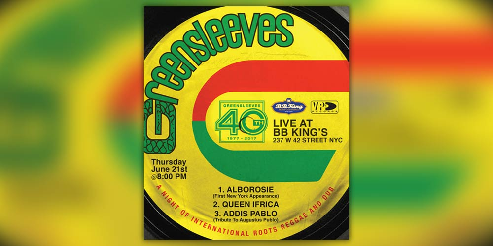 40 years Greensleeves Records