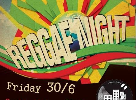 Reggae Night στην Ταράτσα της Φαβέλας( με cocktail)