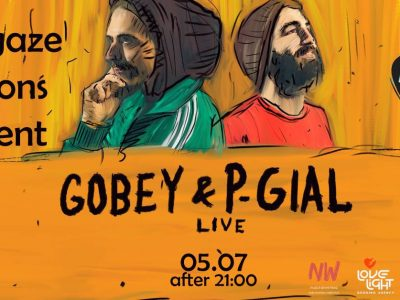 Gobey & P-Gial Live (GR) #skygaze_sessions @WonderWall Roof