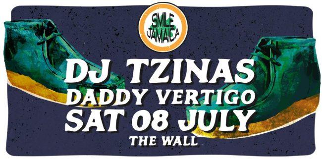 Dj Tzinas & Daddy Vertigo at The Wall