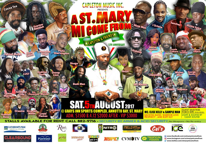 A St Mary Mi Come From poster