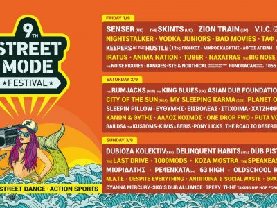 9th Street Mode Festival · 1-3 Sept.