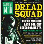 Dreadsquad Athens - 14/10 - Reggae Top 10