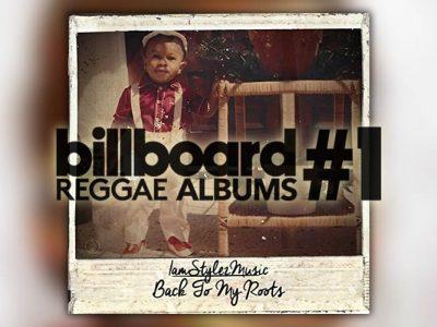Ο IamStylezMusic στην κορυφή του Billboard Reggae Albums Chart!