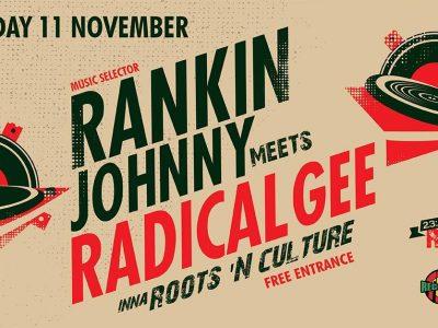 Rankin Johnny meets Radical Gee ,SAT 11/11 ,RED SEA