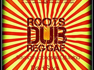 Astronatty alongside Dj Marina _ Roots Dub Reggae