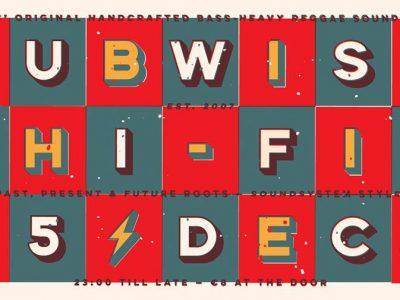 Dubwise Hi-Fi XMAS Special 2017