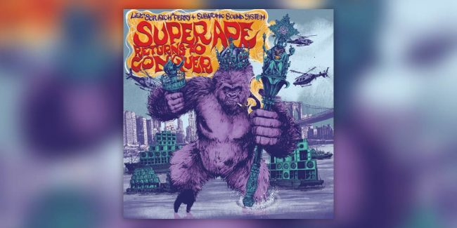 Super Ape Returns to Conquer Subatomic Sound System & Lee