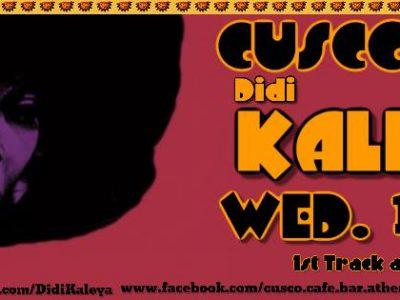 Didi Kaleya Grooves Cusco Bar