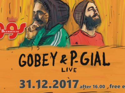 Gobey & P-Gial live at @Fogg's, Arta