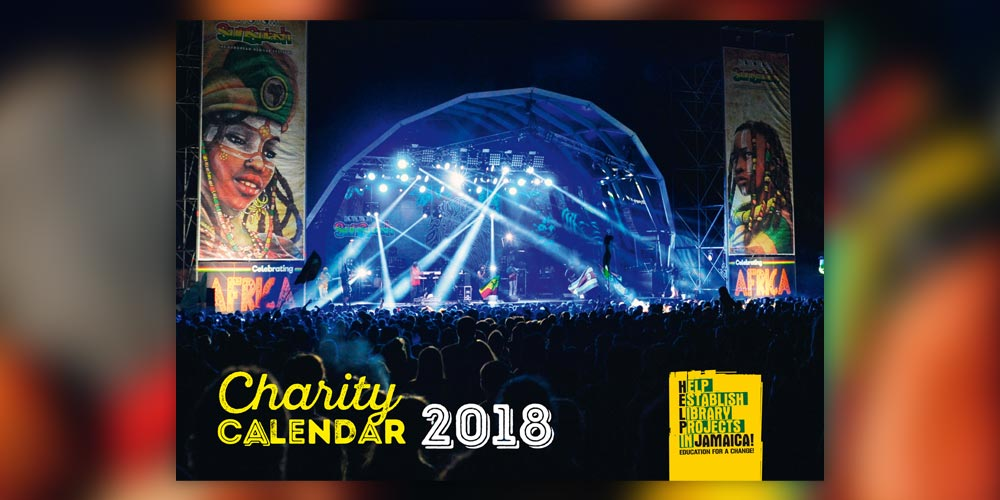 Charity Calendar 2018 από την HELP Jamaica!