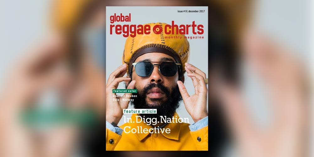 Global Reggae Charts #8, τεύχος Δεκεμβρίου