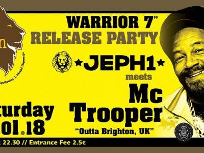 Jeph1 meets MC Trooper (UK) Warrior Release Party