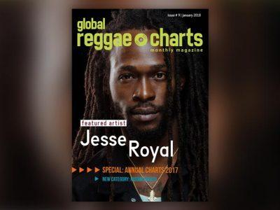 Global Reggae Charts #9, τεύχος Ιανουαρίου