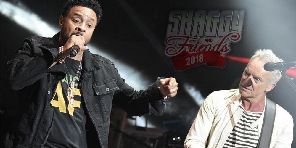 Shaggy And Friends 2018