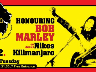 Honoring Bob Marley - Nikos Kilimanjaro on Decks