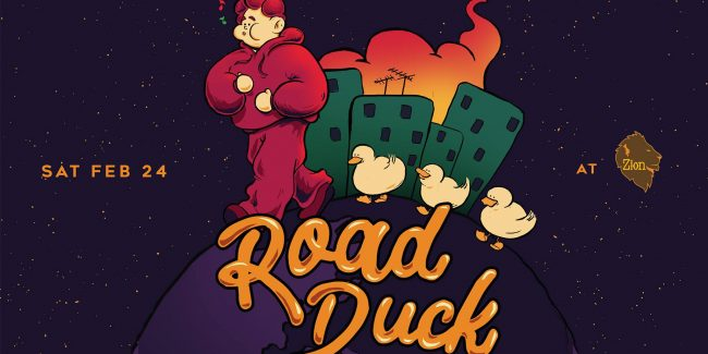 Road Duck Live at Zion - The roots corner of town