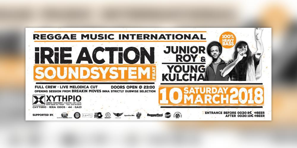 Irie Action Sound System feat. Junior Roy & Young Kulcha