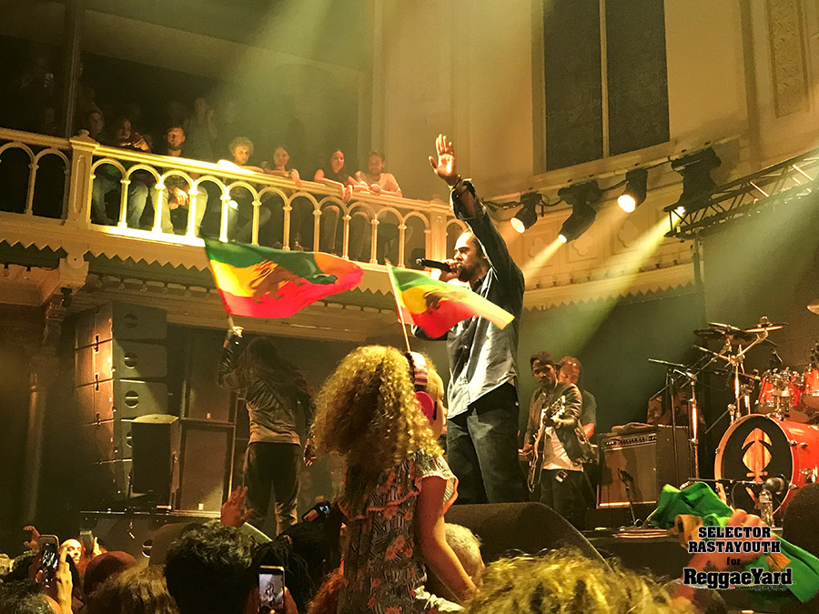 Damian Marley @Pardiso, Amsterdam, 10/07/2018