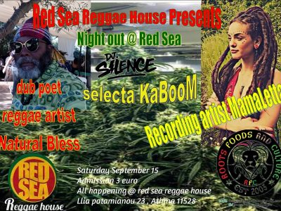 Night Out @ Red Sea Reggae House