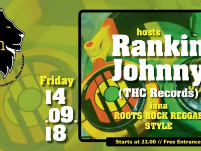 Zion hosts Rankin Johnny inna Roots Rock Reggae style