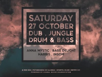 Anna Mystic, Insom, Bass Delight & Harris στο Red Sea