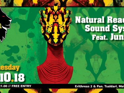 Natural Reaction Sound System feat Junior X