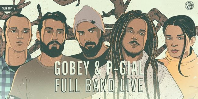 Gobey & P-Gial Full Band Live at six dogs