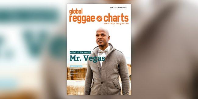 Global Reggae Charts #17, τεύχος Οκτωβρίου 2018!