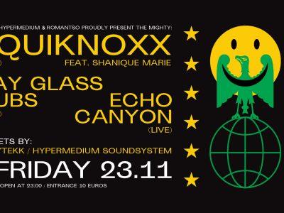 Romantso, Mafia & Hypermedium present: Equiknoxx