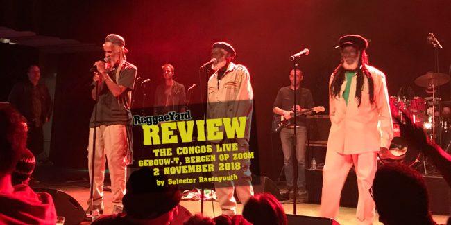 Ανταπόκριση: The Congos, Bergen Op Zoom, 2/11/2018, ReggaeYard.gr, Selector Rastayouth