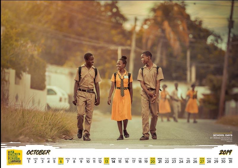 Charity Calendar 2019 12