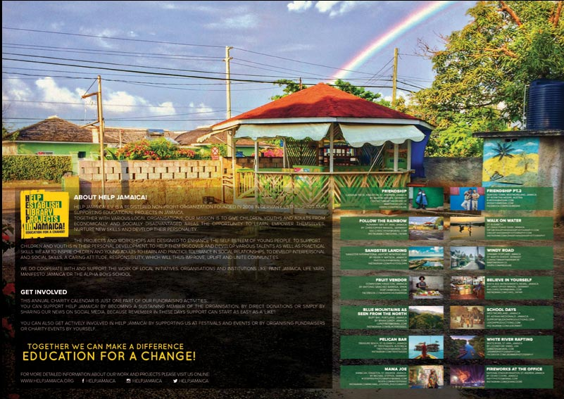 Charity Calendar 2019 2