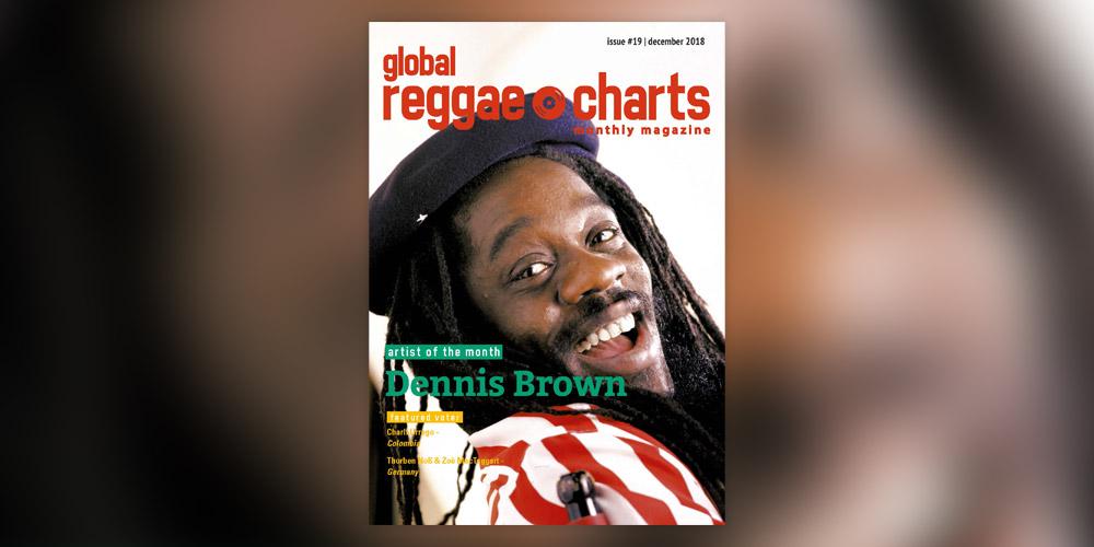 Global Reggae Charts #19, τεύχος Δεκεμβρίου 2018!
