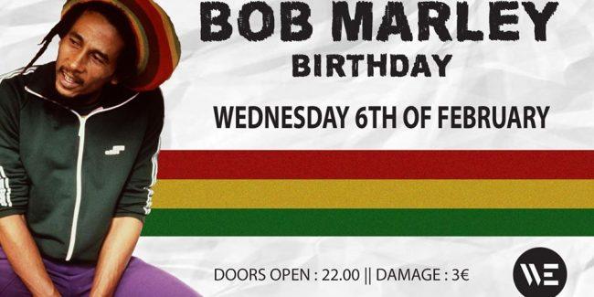 Bob Marley Birthday 2019