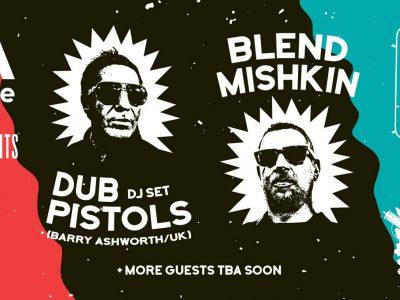 Dub Pistols (UK) DJ Set w/ Blend Mishkin & guests in Volos