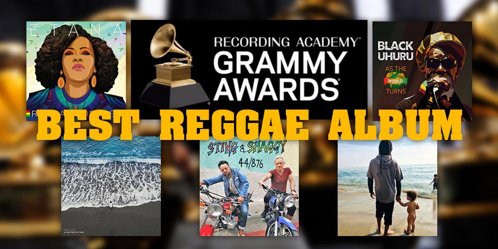 Οι υποψηφιότητες για το Best Reggae Album Grammy 2019!
