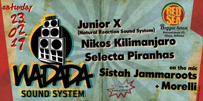 Wadada sound system at RED SEA