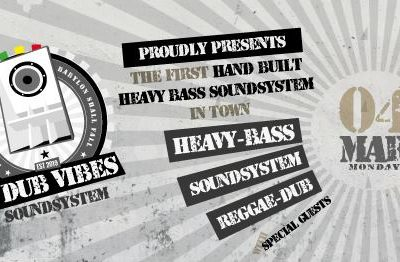 4DubVibes Soundsystem Launch Party