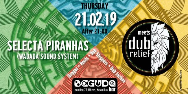 Dub Relief meets Selecta Piranhas at Beguda