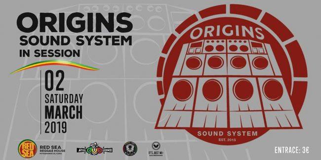Origins Sound System in Session