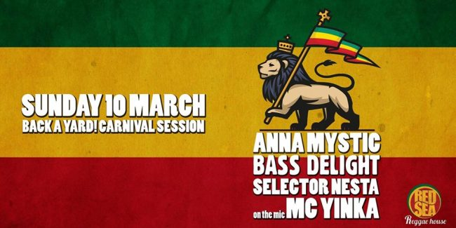 Anna Mystic, Bass Delight & Nesta ft. MC Yinka at Red Sea