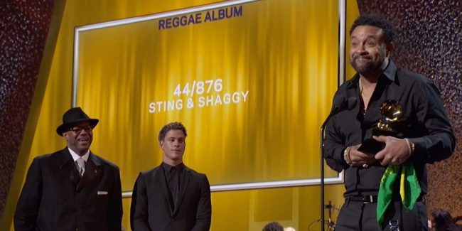 Στους Shaggy, Sting το Grammy Best Reggae Album 2018!