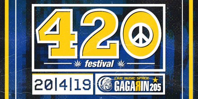 420 Festival ATH - Gagarin