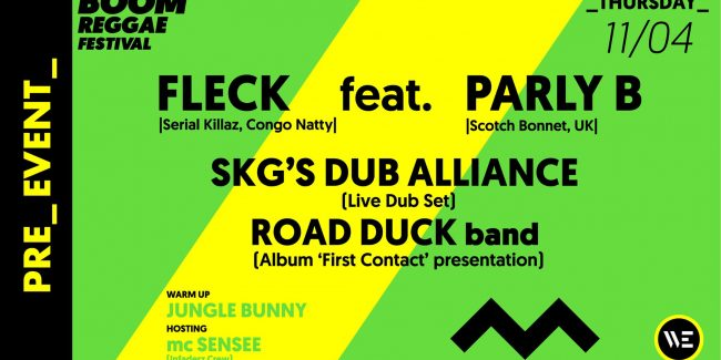 Fleck feat. Parly B - SKG 'S Dub Alliance - Road Duck band