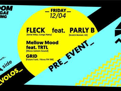 Fleck ft. Parly B (UK) w/ Moca Sound & Grid | Volos