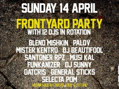 Frontyard party w/ resident djs & BBQ at Urban Garden | Sun 14.4